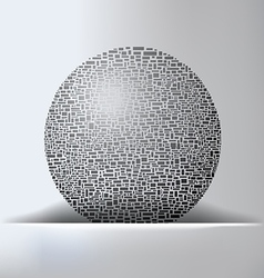 Globe Abstract Background vector image