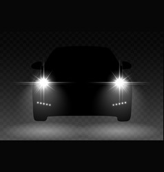 car light vector image