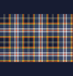 Color check plaid seamless fabric texture vector