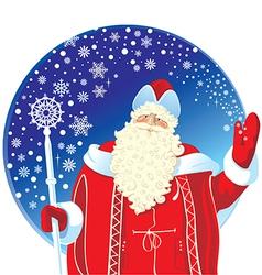 Festive Santa Claus vector