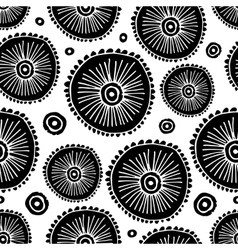 Floral seamless pattern for your design vector image