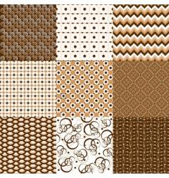 geometric textures vector image vector image