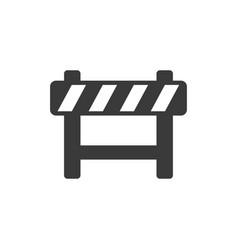 roadblock icon images vector image