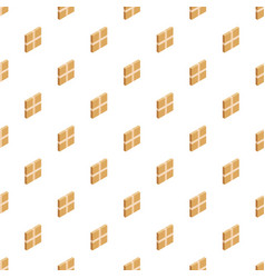 square box pattern seamless vector image