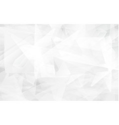 triangle modern white abstract background vector image