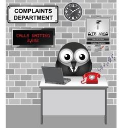 Complaints department vector