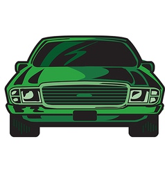 Car Front vector image vector image