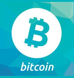 bitcoin blockchain criptocurrency logo vector image