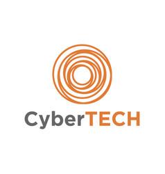 Abstract business technology logo icon design vector