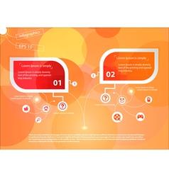 Infografika paper vector image