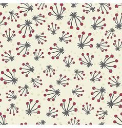 Retro pattern background vector image