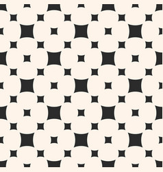Seamless pattern with smooth rounded squares vector