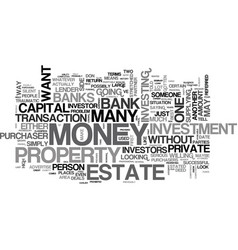 what to do when the banks say no text word cloud vector image