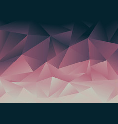 abstract low polygon pink and blue gradient vector image