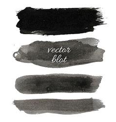 Big Black Blot Collection vector