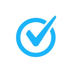 Check mark icon checkmark right symbol vector