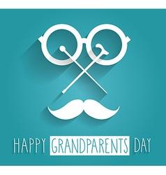 Grandparents icon vector