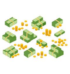 money cash hea vector image