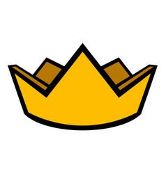Royal crown icon vector