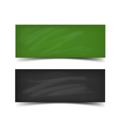 School board banner set vector