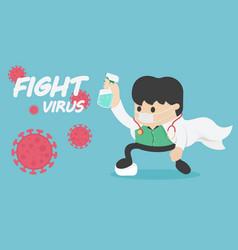 Stop coronavirus 2019 dont be afraid vector