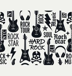 music pattern 013 vector image