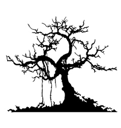 mystery tree vector image