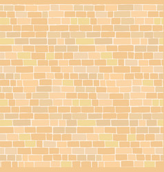 seamless pattern ancient sandy colored stone vector image
