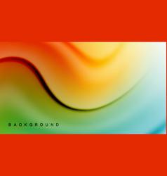Swirl fluid flowing colors motion effect vector