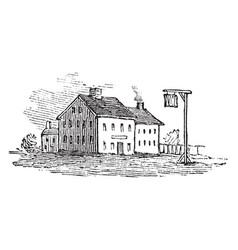 Tavern vintage vector