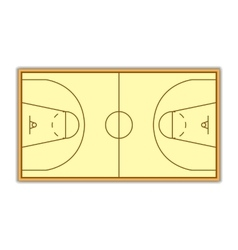 A field for Basketball vector image