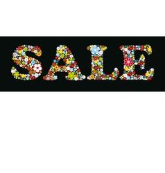 Sale Design print background vector image vector image