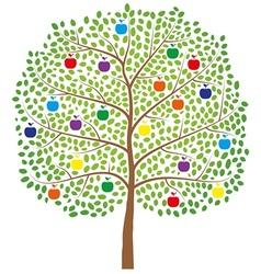 Apple-Tree vector image