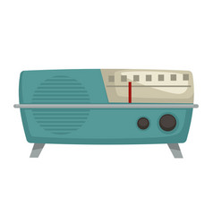 1960s radio isolated object vintage vector