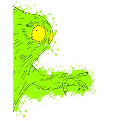 art character vector image