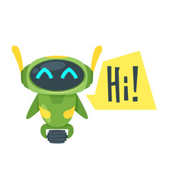 Chat bot vector