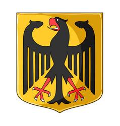 emblem single icon in cartoon styleemblem vector image