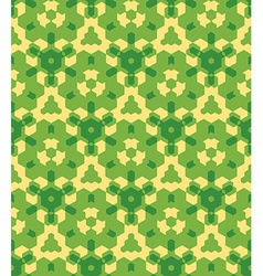 Green yellow color abstract geometric seamless vector
