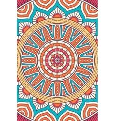 Indian Mandala background vector