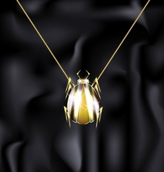 Jewelry beetle vector