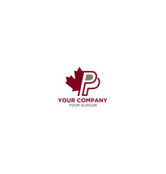 Pp insurance canada logo design vector