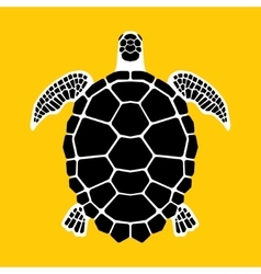 Turtle icon symbol vector