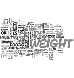 what to do when you just can t lose weight text vector image vector image