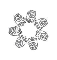 Hand drawn zentangle - vector image