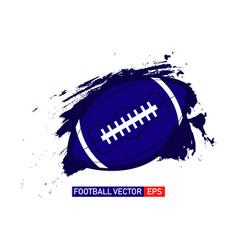 American football logo template design vector