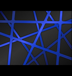 Black and blue metal background vector