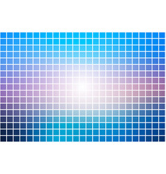 Blue shades pink square mosaic background over vector