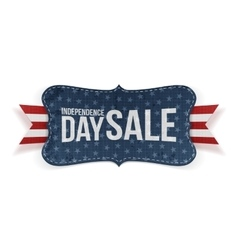 Independence Day Sale patriotic Banner vector image