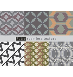 Retro seamless texture vector image