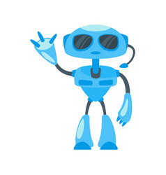security robot vector image